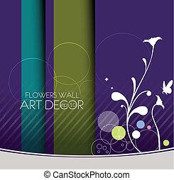 floral banner/postar - vector floral banner/postar design...