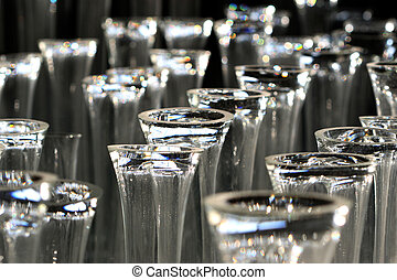glass cup - The composition of the formed image of glass...