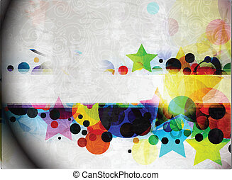 colorful vector banner design