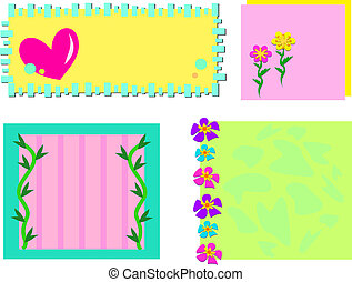 Mix of Nature and Heart Frames