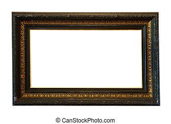 old black frame