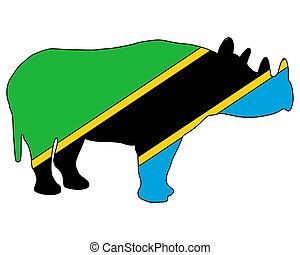 Tanzania black rhino