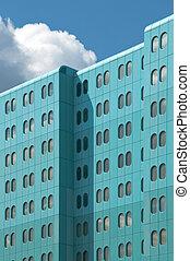 costruzione, ospedale, moderno