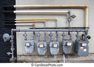 Five Gas Meters