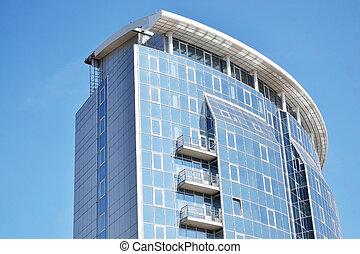 Modern building in Minsk, Belarus - View of the modern...