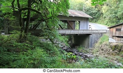 Historic Grist Mill Cedar Creek - Historic Grist Mill along...