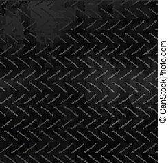 Carbon Pattern texture. Vector Illustration.