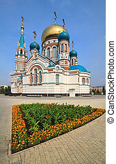 Uspensky Cathedral Omsk Russia