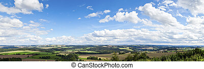 panoramic view - A panoramic view of the beautiful landscape...