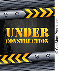 Under construction - Vector illustration - Under...