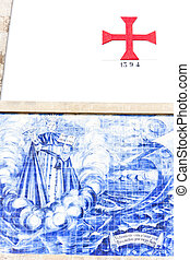 tiles azulejos, Porto, Portugal