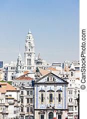quarter of Baixa, Porto, Portugal