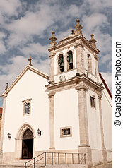 Small church in the center of the city of Pombal, Portugal