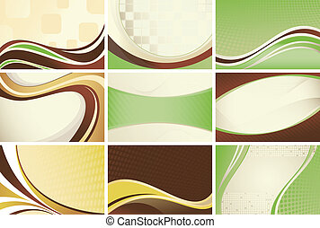 Retro Curve Background