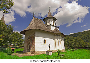 Church of christian monastery - Church of christian orthodox...