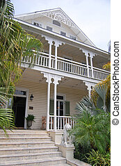 conch property - a property in key west in typical conch...