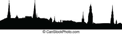 Panoramic city