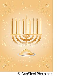 hanukkah wish card