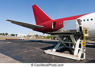 carga, carga, avión