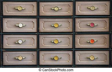 retro drawers