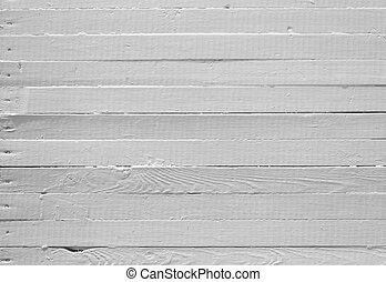 Weathered white wood - A background of weathered white...