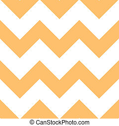Orange Creme Chevron Pattern - Classic chevron pattern Light...