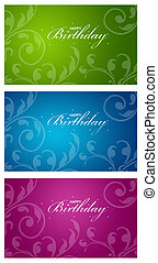 Colorful Birthday Cards