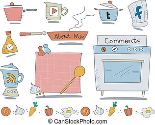 Cooking Web Icons