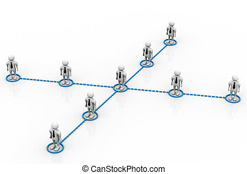 Business network people