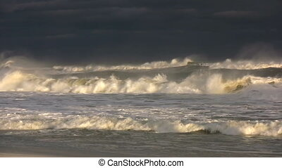 Tropical Storm Waves - Waves generated by tropical storm...