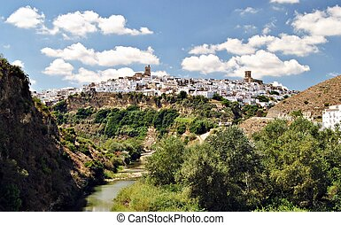 Arcos de la Frontera - View the town of Arcos de la...
