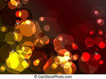 Sparkling festive background
