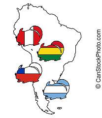 Chinchilla South America