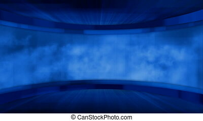 loopable blue hi-tech background
