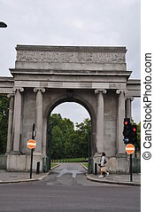 Hyde Park Corner in London