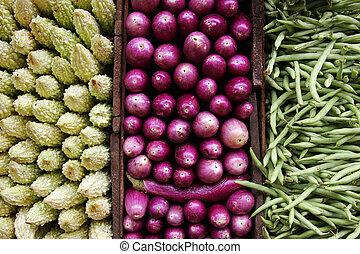 vegetal, tríptico