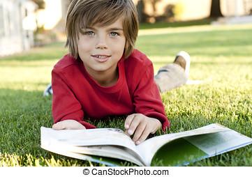 Ragazzo, lettura