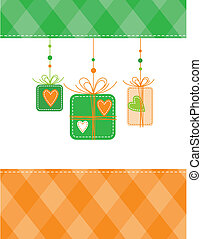 New year\'s card with copy space