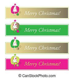 Christmas web banners