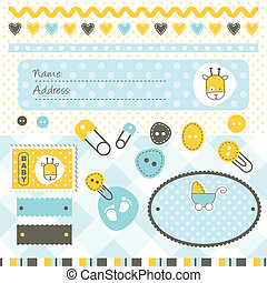 Scrapbook elements - Design elements for scrapbook