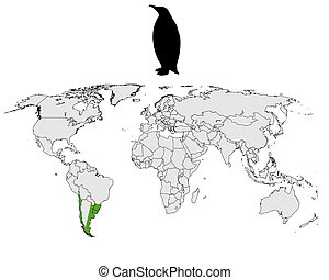 Magellanic penguin range