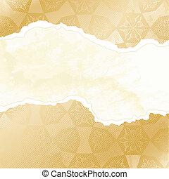 Grungy arabesque wallpaper banner