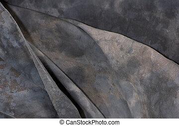 mottled grey cloth backdrop