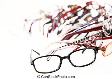 Medical eyeglasses - Collection of modern medical eyeglasses