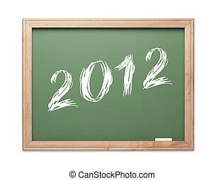 2012 Green Chalk Board