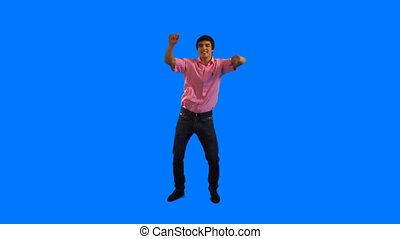 Dancing guy - Handsome guy dancing at party