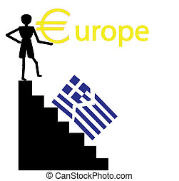 greece out of euro - greece falling from the euro zone