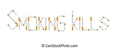 smoking kills - Smoking kills - the inscription of the...