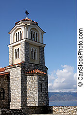 Ohrid, Macedonia - Church of St Naum on Ohrid Lake,...