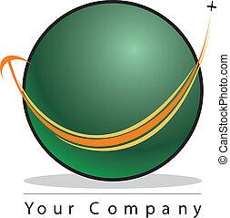 Globe logo - A globe logo to travel company